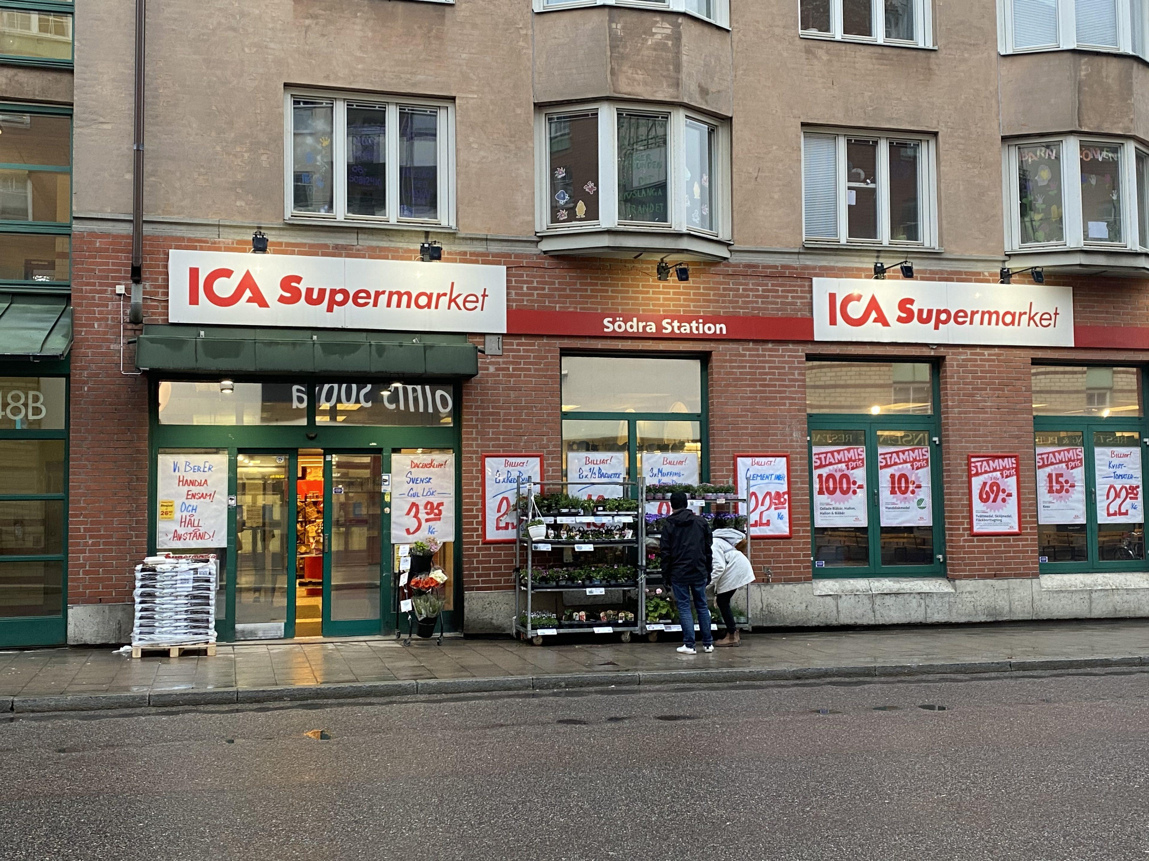 ICA södra Station